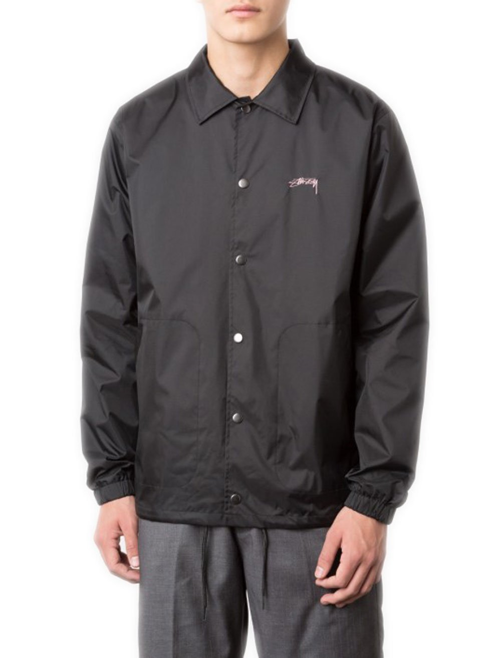 STUSSY Summer Coach Jacket (2Xlarge, Black)