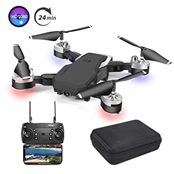 3T6B Nuevo Drone con Cámara 1080P HD 5 megapíxeles, Avión WiFi FPV ...