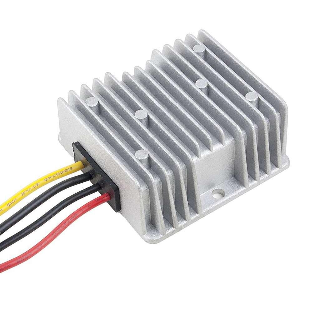 Laileya Spannung Reducer 24V bis 12V 20A Feuchtigkeitsbest/ändig DC Step Down Converter 15-40V 12V 20A DC Buck Converter