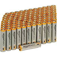 100-Pack AmazonBasics AAA Performance Alkaline Batteries
