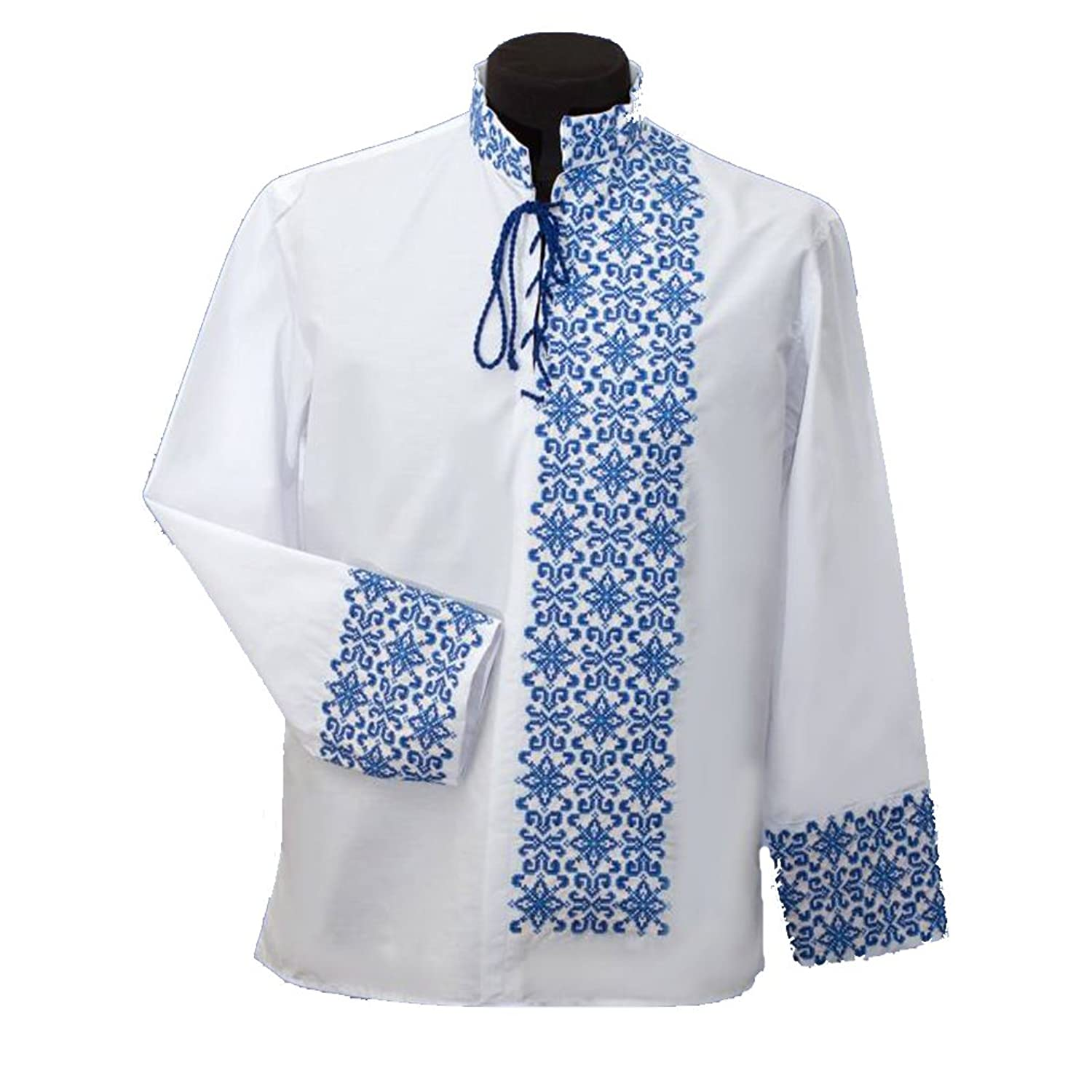 Ukrainian embroidered traditional ethnic folk shirts for men, new, cotton.