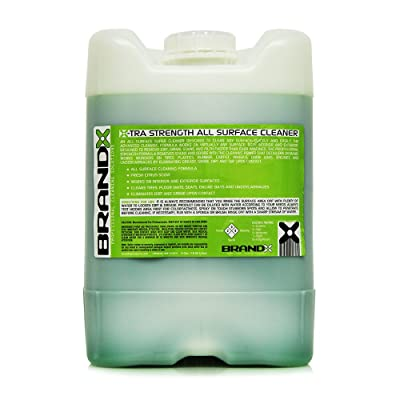 BrandX X10205 X-TRA Strength All Surface Cleaner - 5 gal.: Automotive