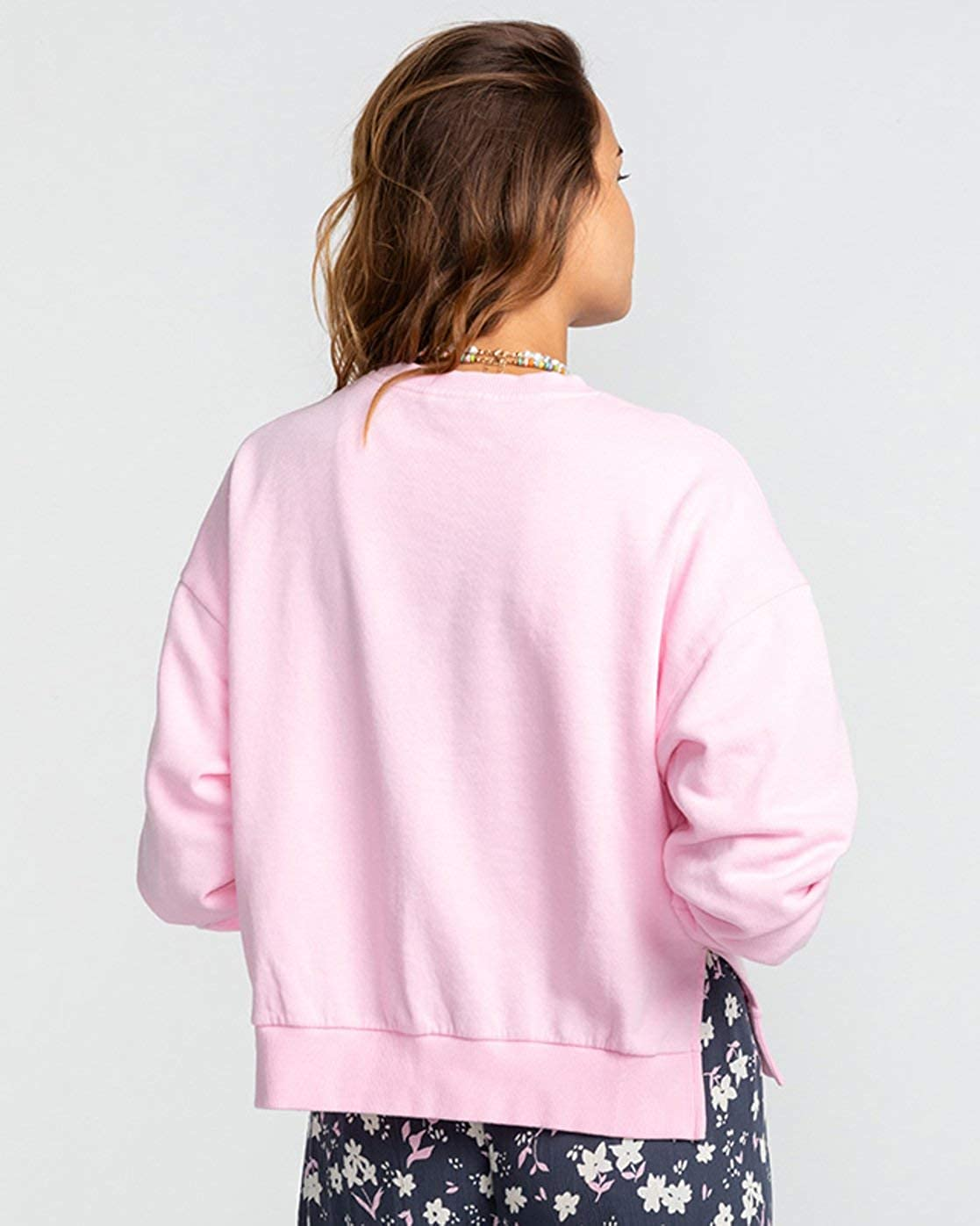 BILLABONGTM Arch Palm – Sweatshirt für Damen U3CR11BIF0 Rose Dawn
