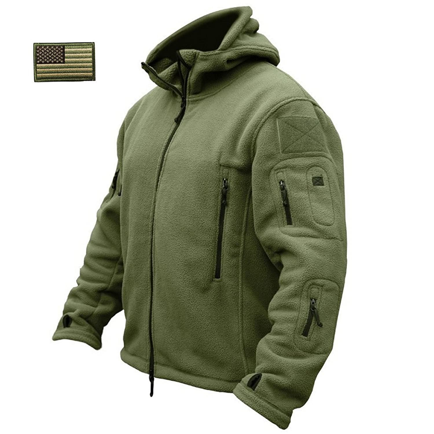 Amazon.com: ReFire Gear Men's Warm Military Tactical Sport Fleece ...