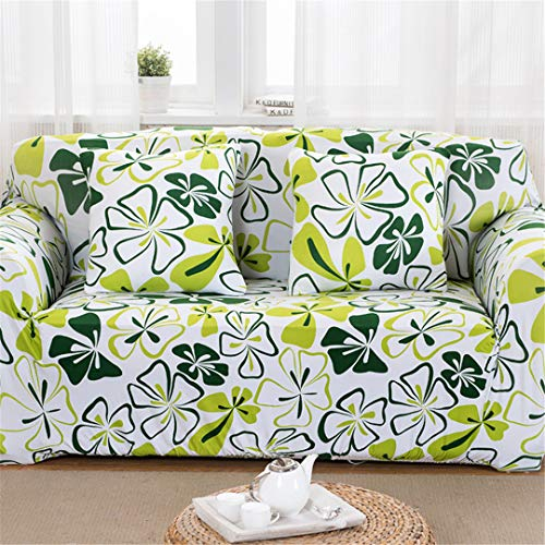 (Floral Pattern Universal Elastic Stretch Sofa Covers Living Room Couch Slipcovers Cases Spandex Furniture Protector Home Decor 5 3 Seater)