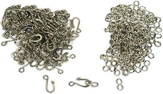 5pcs Magnetic Clasps Silver Plated For Necklace Chain Jewelry Finding Making