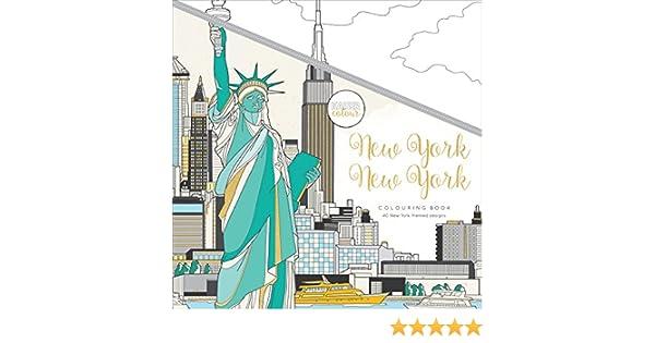 Kaisercraft New York KaiserColour Perfect Bound Coloring Book 9.75X9.75