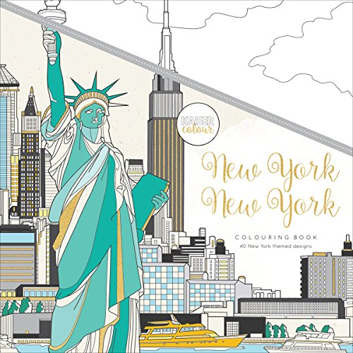 Kaisercraft New York Kaisercolour Perfect Bound Coloring Book, 9.75''X9.75'' by Kaisercraft