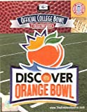 2013 Discover Orange Bowl Patch - Florida State vs Northern Illinois