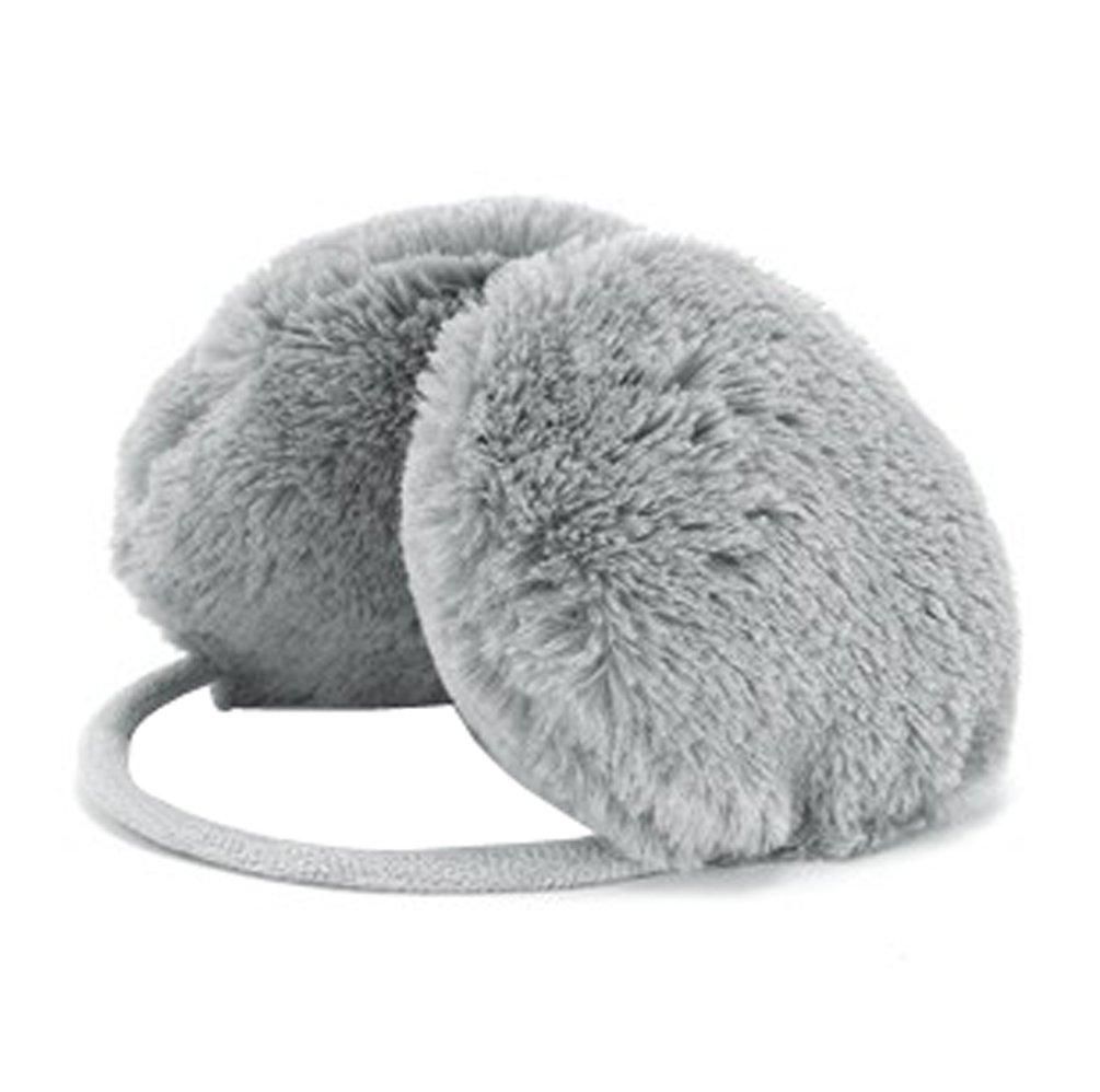 Gaorui women Fluffy warm Earmuffs Earcaps Ear cover winter faux fur belt Multicolor WOMET-BL