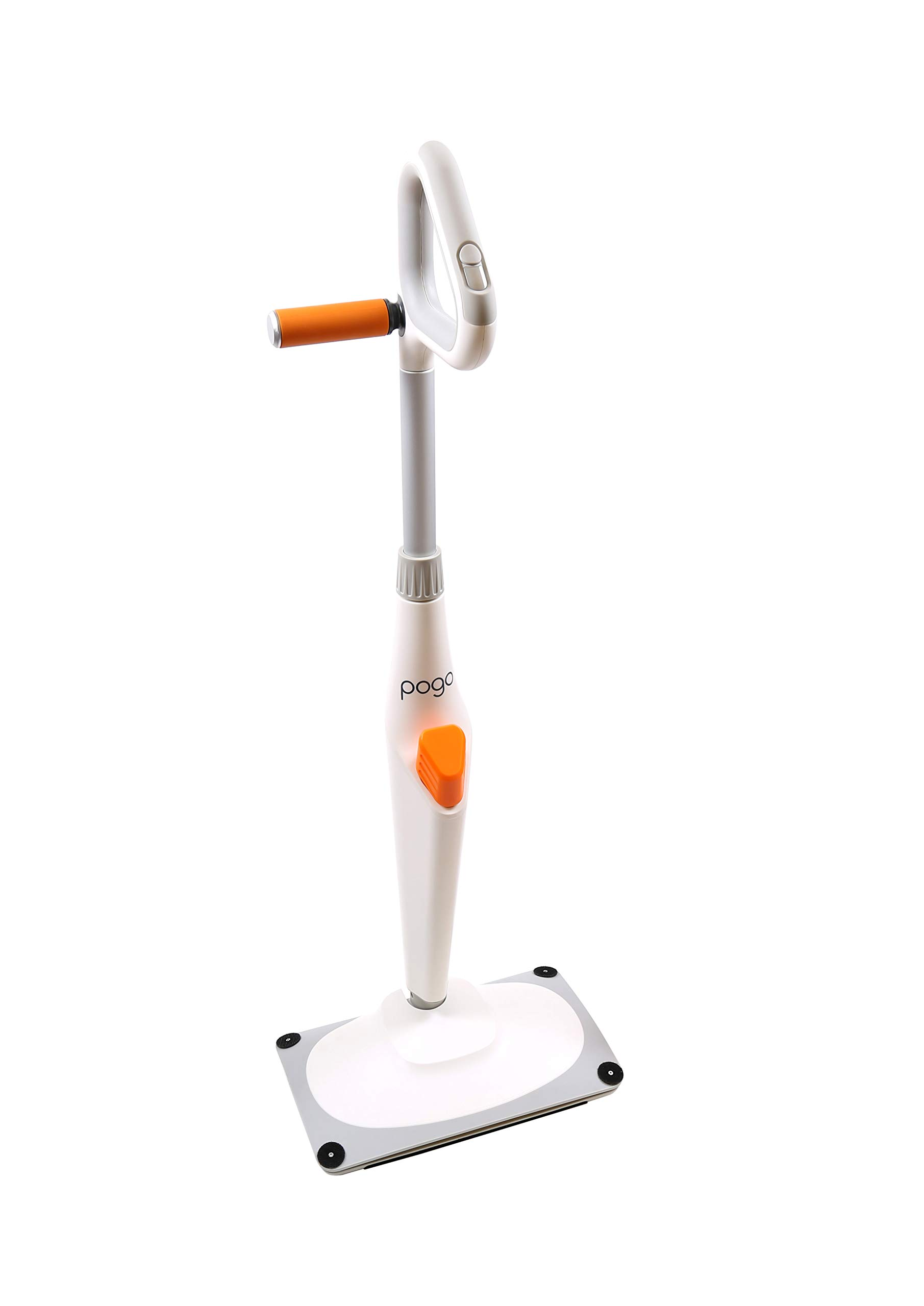 Pogo Electric Mop 4000 RPM Pro Package - Cleans Any Surface. Includes 6 Mop Heads, 2 XL Batteries.