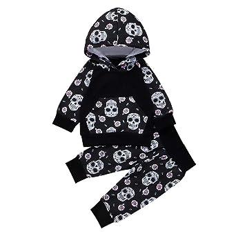Baiomawzh Disfraz de Halloween Ropa Bebe Niña Niño ...