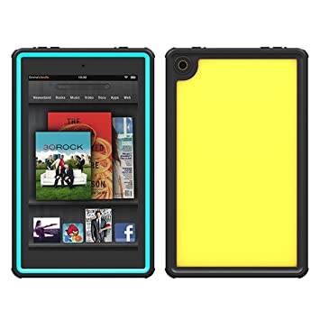 Amazon com: Tablet Amazon Kindle Fire HD 8 2016 Waterproof