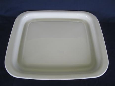 Amazon.com: Corning Ware Blanco Microondas browner sartén ...