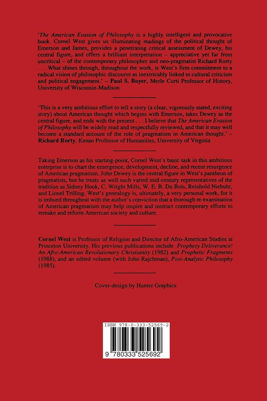 amazon the american evasion of philosophy a genealogy of