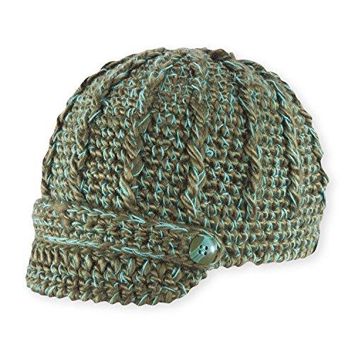 Pistil Women's Clara Knit Brimmed Beanie Hat, Olive