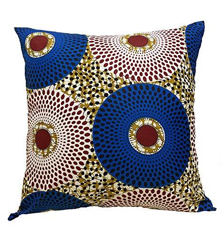 African Print Throw Pillow Case - 18