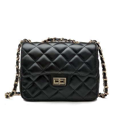 Kipten Ladies Shoulder Bag Quilted Chain Fashion Leather Handbag