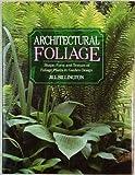 Architectural Foliage, Jill Billington, 0706369629