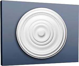 Ceiling Rose Rosette Orac Decor R09 LUXXUS Medallion Centre Quality Classic Style Decor White 48 cm = 18 inch Diameter