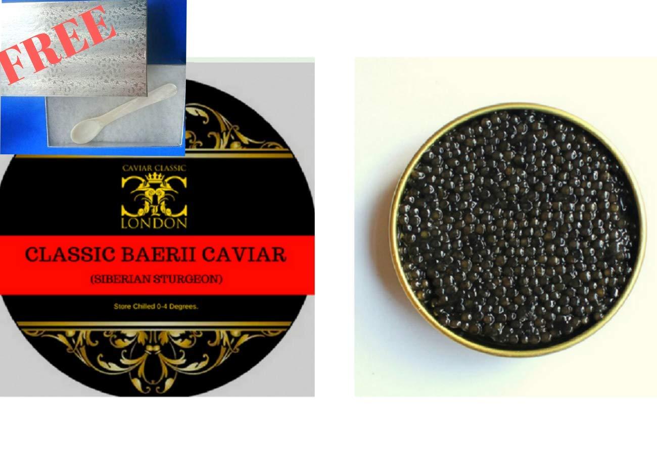 Baerii Classic Caviar (50 Gram) Siberian Sturgeon  FREE express delivery