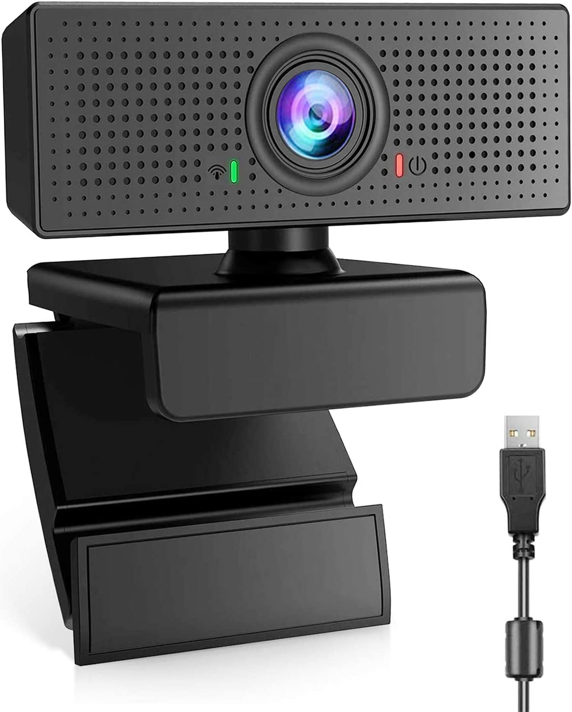 Webcam with Microphone HD 1080P