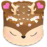 Slow Rising Squishy Deer Reindeer Squishy Stress Relief Decompression Squishy Foam Toy