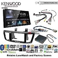 Volunteer Audio Kenwood DDX9904S Double Din Radio Install Kit with Apple CarPlay Android Auto Bluetooth Fits 2013-2015 Honda Accord