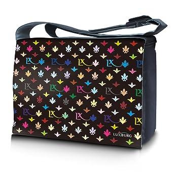 Luxburg® funda bolso Sleeve para Ordenador Portátil de Neopreno, para 17 pulgadas