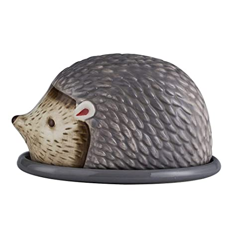 Amazon.com: MonLiya - Mantequera grande con tapa, caja de ...