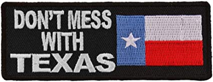 "DONT MESS WITH AMERICA 12/"" sew on high quality EMBROIDERY EMBLEM-Patch GIFT?"