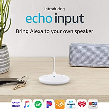 Echo Input - Bring Alexa to your own speaker