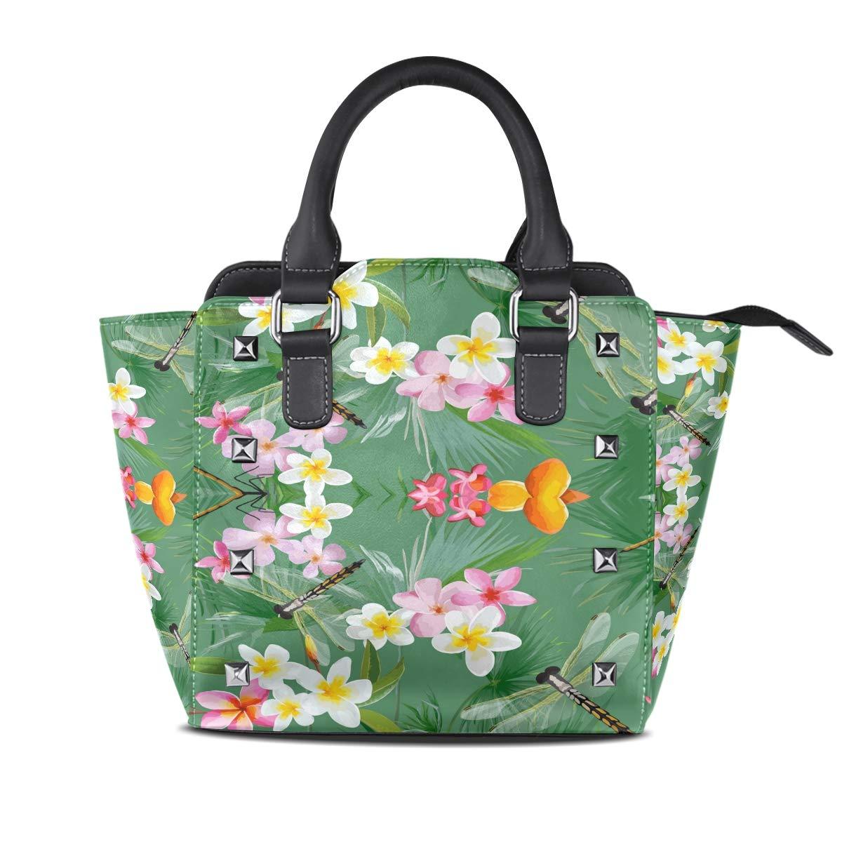 Design2 Handbag Unicorn Puts Rainbow Fart The Galaxy Genuine Leather Tote Rivet Bag Shoulder Strap Top Handle Women