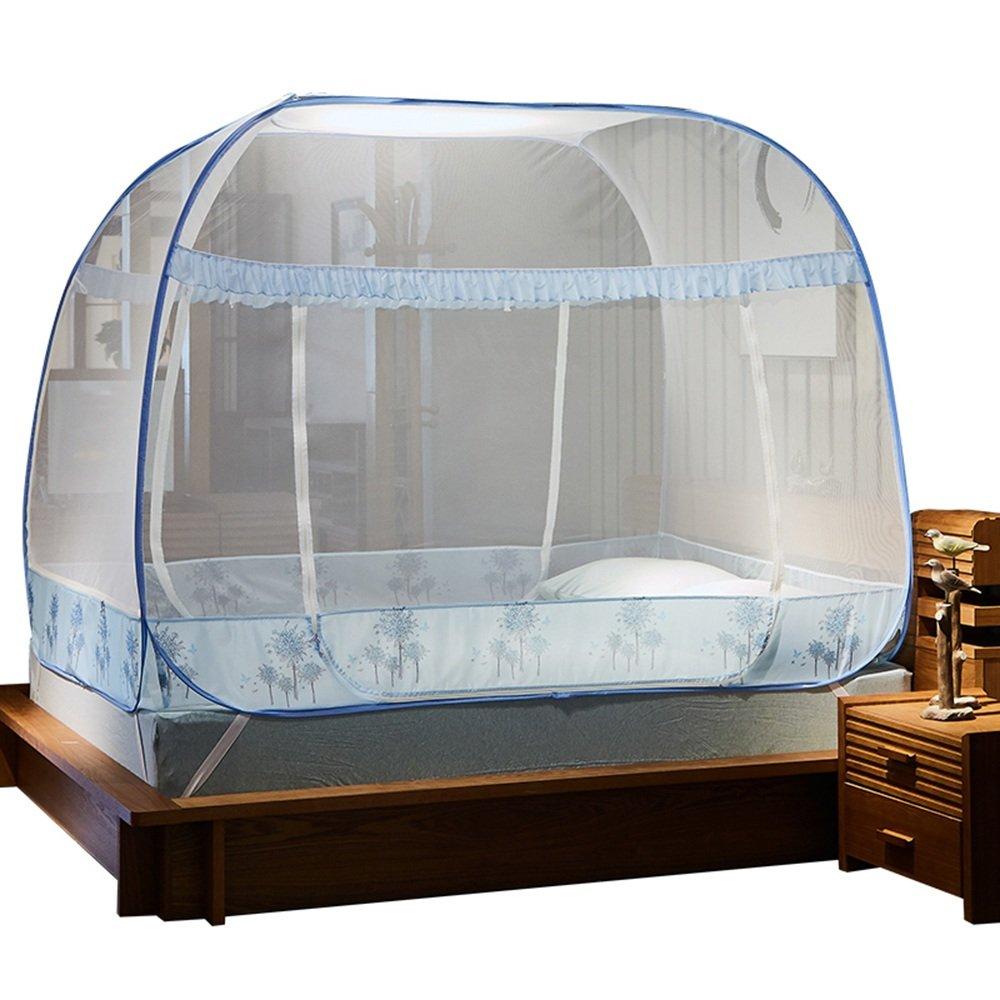 Moskitonetze MEIDUO Doppel Haushalt Jurten (1,5/1,8M Bett)