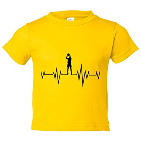 Camiseta niño el baloncesto me da vida I Love This Game - Amarillo ...