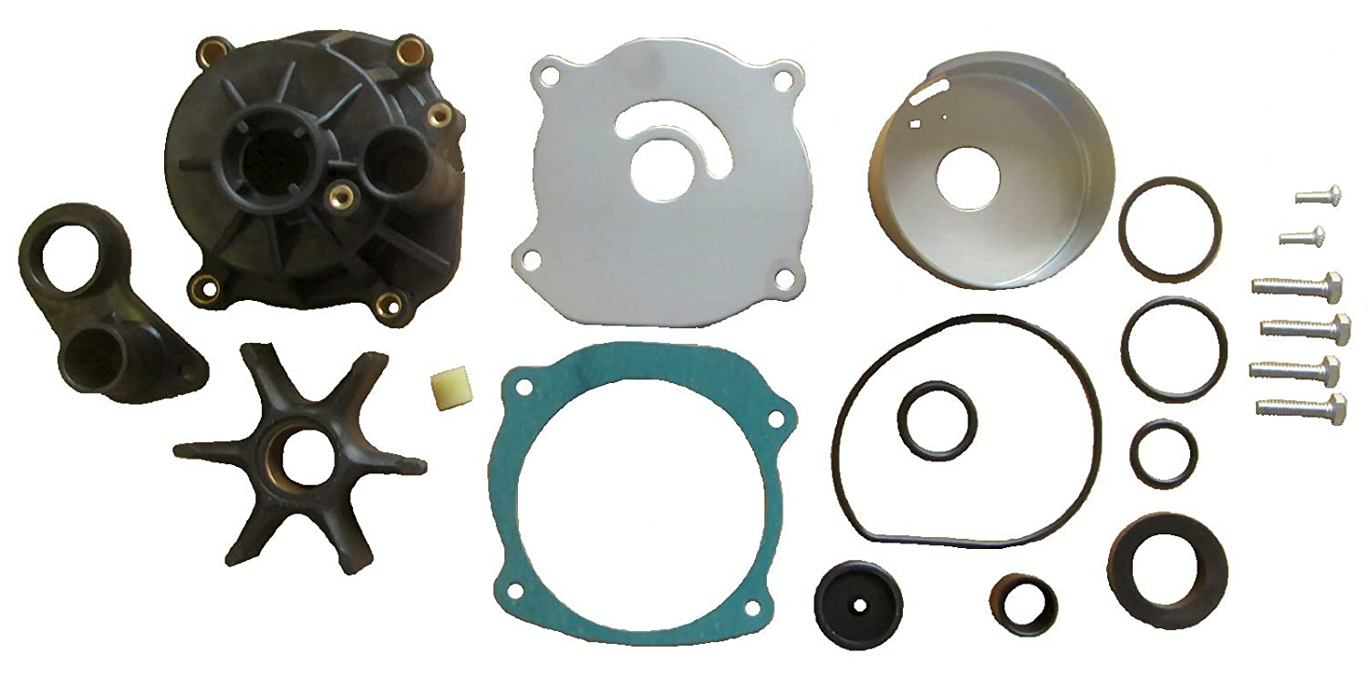 Water Pump Kit with Housing for Johnson Evinrude V6 V8 replaces 5001594  434421