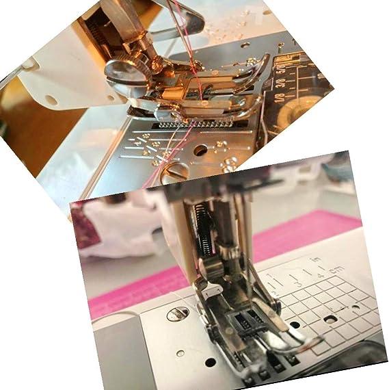 JZK Prensatela de doble arrastre con guia para máquinas de coser ...