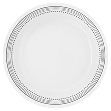 Corelle Livingware Mystic Gray 8.5  Lunch Plate (Set of 8)