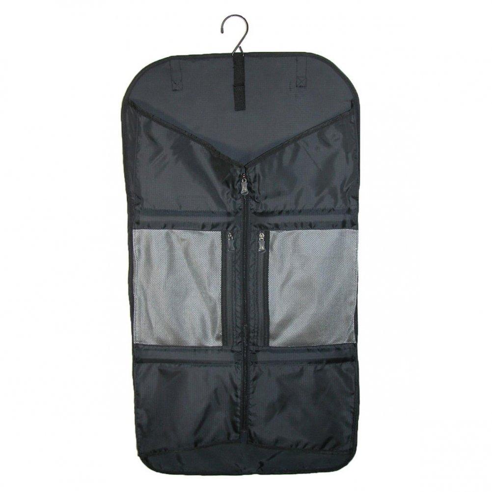 Lite Gear Trifold Garment Bag, Black, One Size