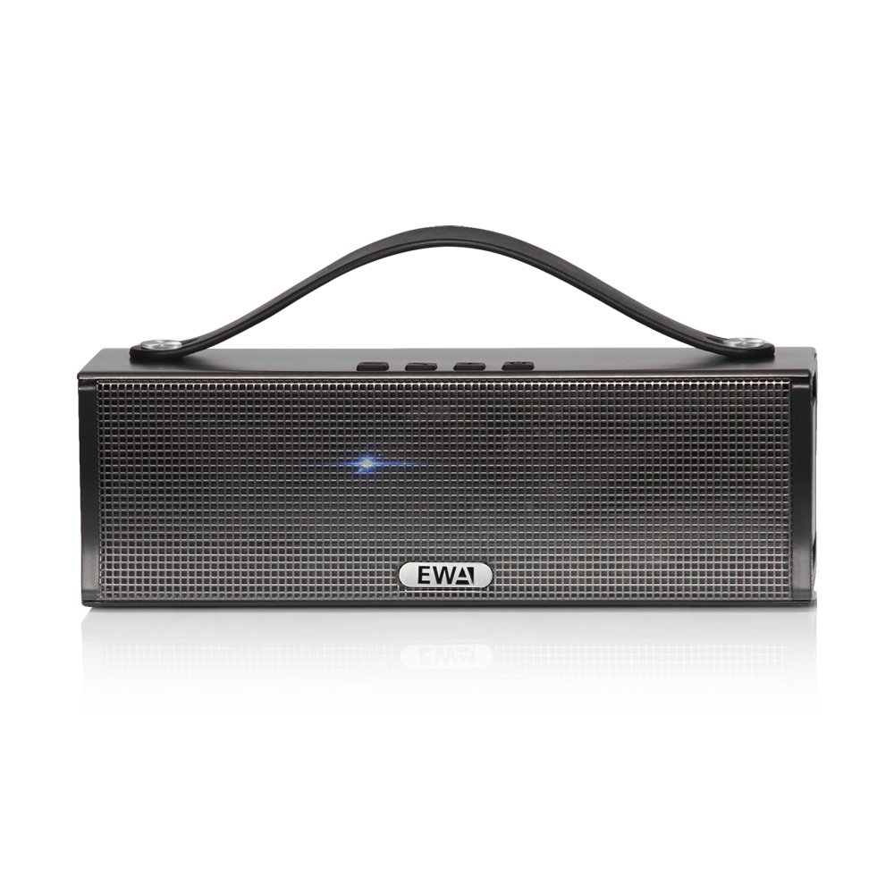 EWA D560 20W Premium Stereo Portable Bluetooth Speaker with Dual 10W Drivers, Two Passive Subwoofers, Enhanced Bass and High Definition Sound, Portable Design, For iPhone, iPad,Nexus,Laptops and More