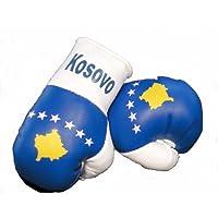 Mini Boxhandschuhe KOSOVO, 1 Paar (2 Stück) Miniboxhandschuhe z. B. für Auto-Innenspiegel