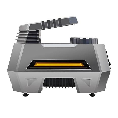 YLG Inflador Eléctrico Portátil Automático para Neumáticos,Compresor De Aire Digital,Inflador,Iluminación