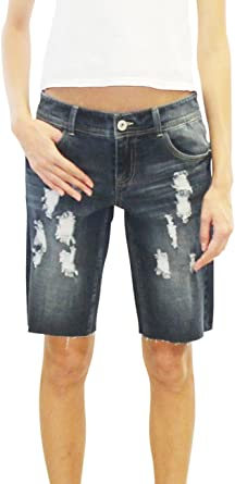 BOYFRIEND Look Destroyed Jeans BERMUDA Shorts