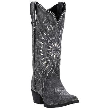 41e999c015e Amazon.com  Laredo Women's Silver Starburst Cowgirl Boot Snip Toe  Shoes
