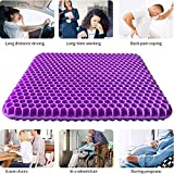 Gel Seat Cushion, Double Thick Gel Cushion for Long