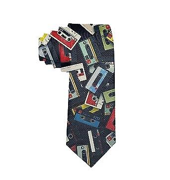 GZOSWLGS Corbata de hombre Cinta vieja Moda Corbata Fiesta de ...