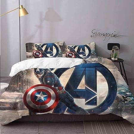 Copripiumino Capitan America.Biancheria Da Letto Di Natale Capitan America Avengers Artwork Up