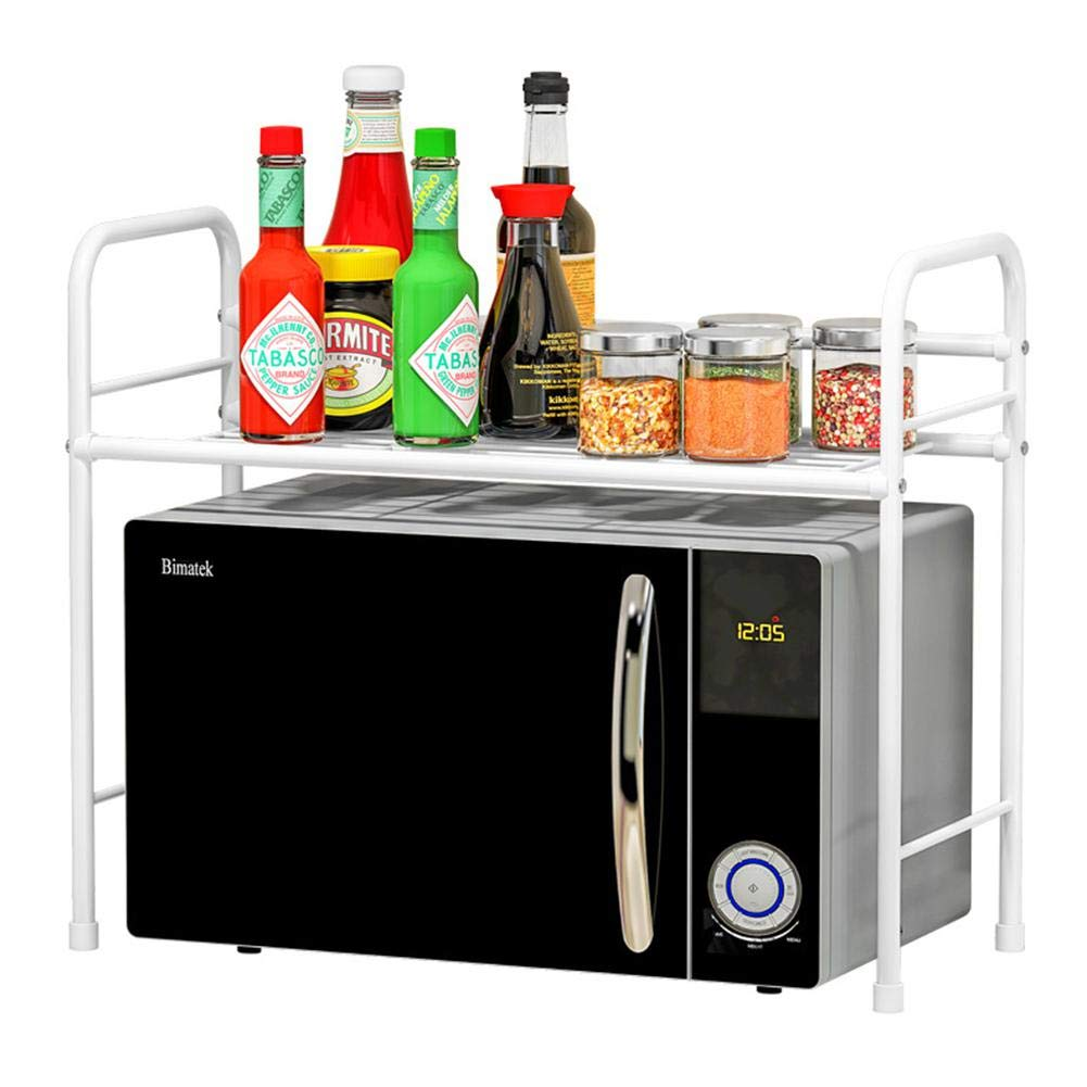 Mink Monk Multilayer Metal Rack for Kitchen Microwave Oven Storage