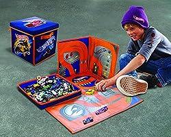 Neat-Oh. – A1686 X X – Caja de Almacenamiento – 2 en 1 – Hotwheels: Amazon.es: Juguetes y juegos