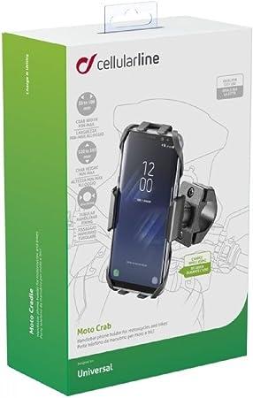 Cellular Line SMMOTOCRAB Moto Crab – Funda con Soporte para ...